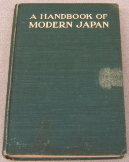 Image for A Handbook Of Modern Japan
