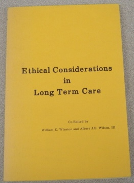 Image for Ethical Considerations In Long Term Care