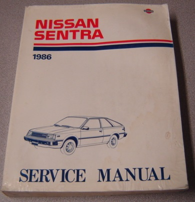 Image for 1986 Nissan Sentra Service Manual