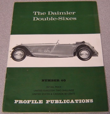 Image for The Daimler Double-Sixes (Number 40)