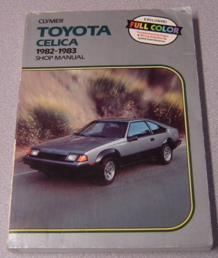 Image for Clymer Toyota Celica 1982-1983 Shop Manual