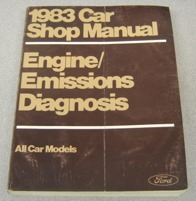 Image for Ford 1983 Car Shop Manual, Engine/Emissions Diagnosis, All Car Models