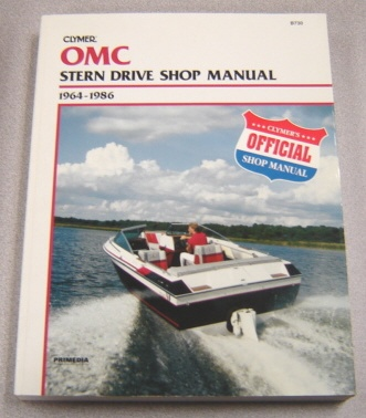 Image for Clymer OMC Stern Drive Shop Manual, 1964-1986