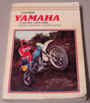 Image for Clymer Yamaha IT125-490 1976-1986 Service, Repair, Maintenance