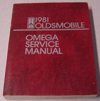 Image for 1981 Oldsmobile Omega Service Manual