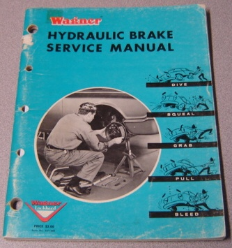 Image for Wagner Hydraulic Brake Service Manual