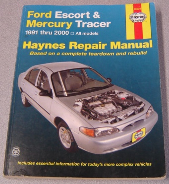 Image for Haynes Ford Escort & Mercury Tracer, 1991-2000: All Models (haynes Automotive Repair Manual)