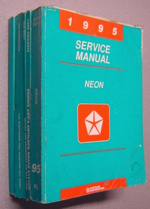 Image for 1995 Neon Service Manual, 5 Volumes including Supplement