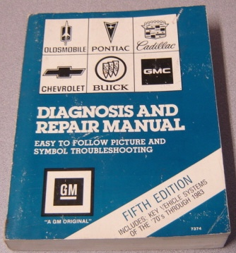 Image for Chilton's GM Diagnosis and Repair Manual, Easy to Follow Picture & Symbol Troubleshooting, 5th Ed.