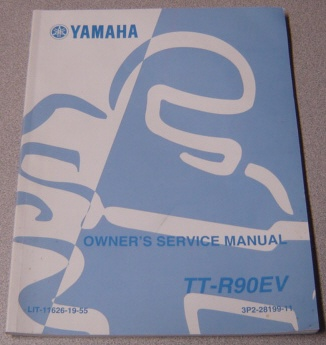 Image for 2005 Yamaha TT-R90EV Owner's Service Manual; LIT-11626-19-55, 3P2-28199-11