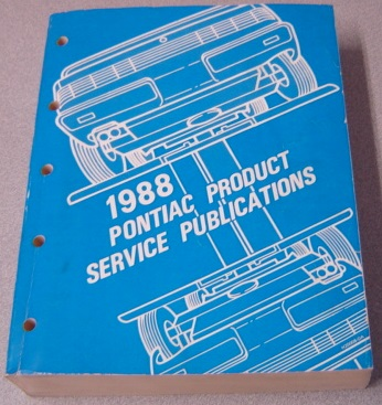 Image for 1988 Pontiac Product Service Publications