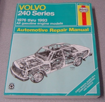 Image for Haynes Volvo 240 Series: 1976 Thru 1993 All Gasoline Engine Models (Haynes Repair Manual)