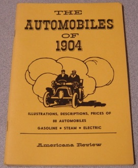 Image for The Automobiles of 1904 (Long Ago Books Series)
