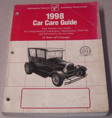 Image for 1998 Chek-chart Car Care Guide