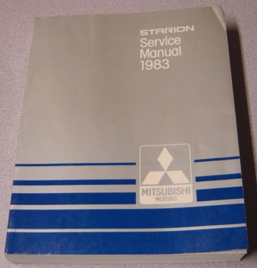 Image for Starion Service Manual 1983