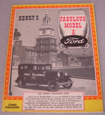 "Image for Henry's Fabulous Model ""A"" (Ford)"