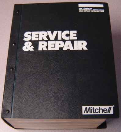Image for 1994 Mitchell Engine Performance Service & Repair, Asian & European Imported Cars, Light Trucks & Vans, Supplements 1,2,3 & 4, 4 Volume Set