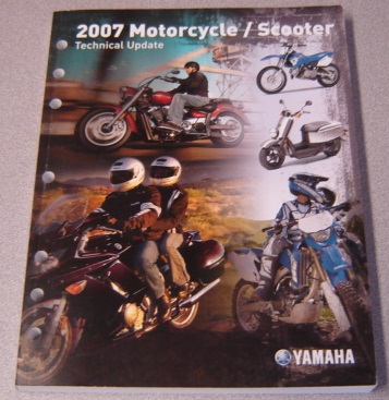 Image for Yamaha 2007 Motorcycle / Scooter Technical Update (LIT-17500-MC-07)