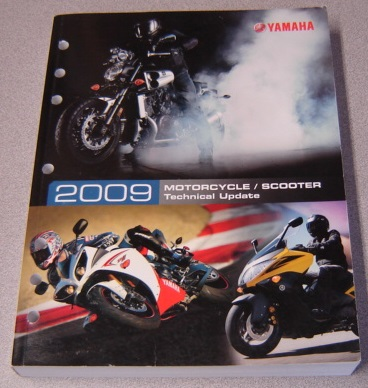 Image for 2009 Yamaha Motorcycle / Scooter Technical Update (LIT-17500-MC-09)