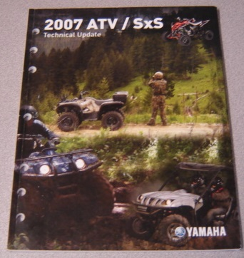 Image for Yamaha 2007 ATV SXS Technical Update Manual (LIT-17500-AT-07)