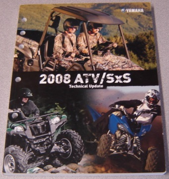 Image for Yamaha 2008 ATV/SxS Technical Update (LIT-17500-AT-08)