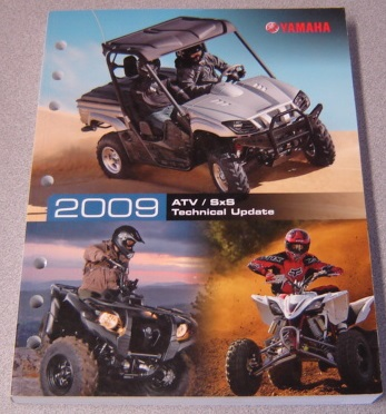 Image for 2009 Yamaha ATV / SxS Technical Update Manual (LIT-17500-AT-09)