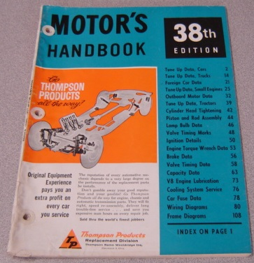 Image for Motor's Handbook, 38th Edition