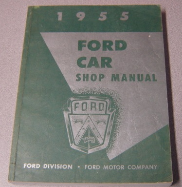 Image for 1955 Ford Car Shop Manual