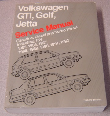 Image for Volkswagen GTI, Golf, Jetta Service Manual : Gasoline, Diesel and Turbo Diesel Including 16V 1985, 1986, 1987, 1988, 1989, 1990, 1991, 1992