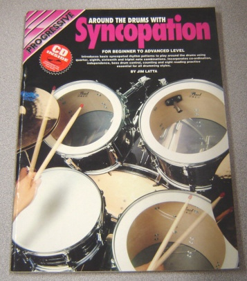 Image for Progressive Around The Drums With Syncopation: For Beginner To Advanced Level, Book/cd