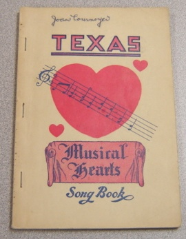 Image for Texas Musical Harts (Hearts) Song Book