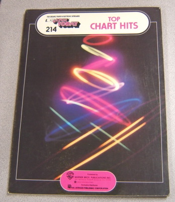 Image for E-Z Play Today: Top Chart Hits for Organs, Pianos & Electronic Keyboards (#214)