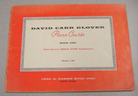 "Image for David Carr Glover Piano Course, Book One, With Special ""Solo Fun"" Supplement"