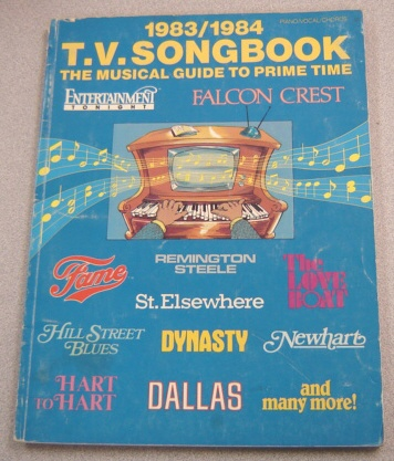 Image for 1983/1984 T.V. (TV) Songbook: The Musical Guide to Prime Time, Piano/Vocal/Chords