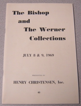 Image for The Bishop And The Werner Collections, July 8 & 9, 1969