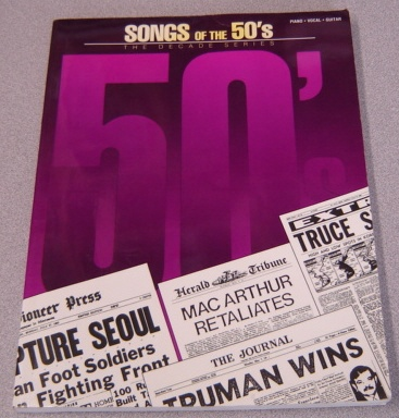 Image for Songs of the 1950's: The Decade Series (Piano/Vocal/Guitar)
