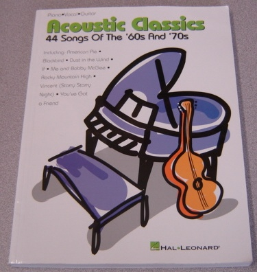 Image for Acoustic Classics: 44 Songs of the '60s and '70s (Piano/Vocal/Guitar)