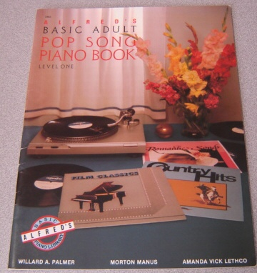 Image for Alfred's Basic Adult Pop Song Piano Book, Level 1