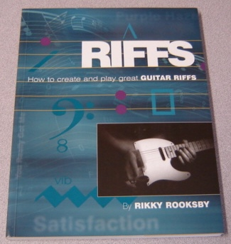 Image for Riffs - How to Create and Play Great Guitar Riffs (Book/CD)