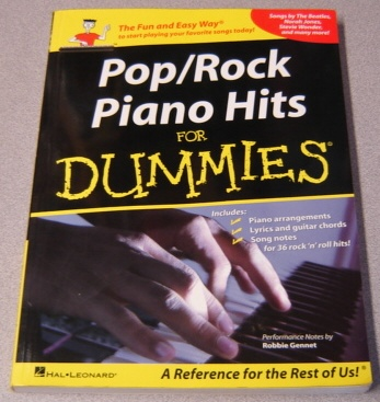 Image for Pop/Rock Piano Hits for Dummies