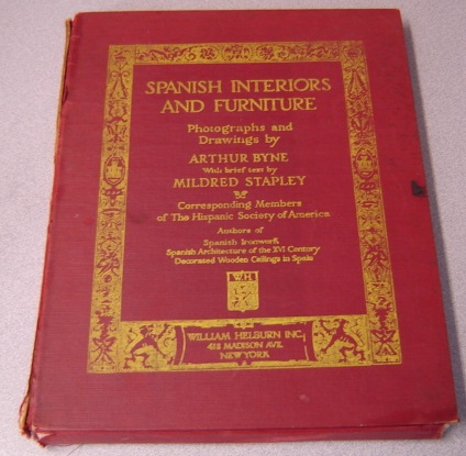 Image for Spanish Interiors And Furniture, Volume Three (3, III)