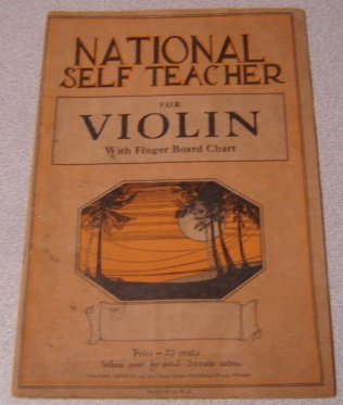 Image for National Self Teacher For Violin, With Finger Board Chart