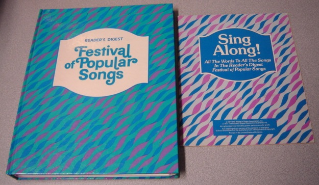 Image for Reader's Digest Festival Of Popular Songs With Lyric Booklet