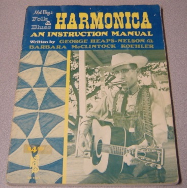 Image for Mel Bay's Folk And Blues Harmonica: An Instruction Manual