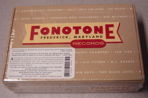 Image for Fonotone Records, Frederick Maryland; Boxed Set