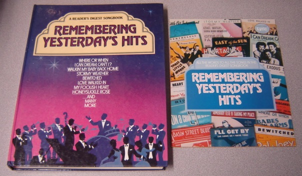 Image for Remembering Yesterday's Hits with Lyric Booklet (Reader's Digest Songbook Ser.)