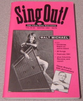 Image for Sing Out! The Folk Song Magazine, Vol. 35 No. 4, Winter 1991