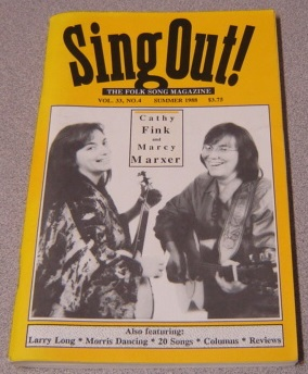 Image for Sing Out! The Folk Song Magazine, Vol. 33 #4, Summer 1988