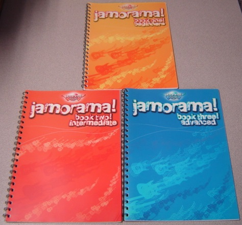 Image for Jamorama! The Ultimate Guitar Learning Kit, 3 Volume Set; Book 1: Beginners, Book 2: Intermediate, Book 3: Advanced