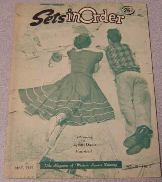 Image for Sets In Order - The Magazine Of Square Dancing, Volume 3 #5, May 1951